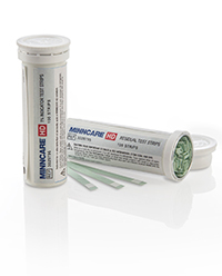 Minncare Cold Sterilant: Minncare Test Strips HD