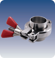 Sanitary Fittings: Safety Sanitary Clamp, Series Safety Clamp