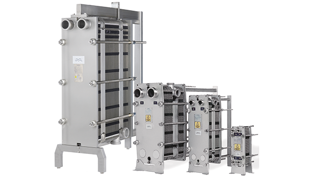 Plate Heat Exchangers: Gasketed Plate-and-frame Heat Exchangers: BaseLine 10