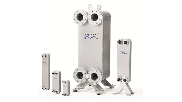 Plate Heat Exchangers: Fusion-bonded Plate Heat Exchangers: AlfaNova 76