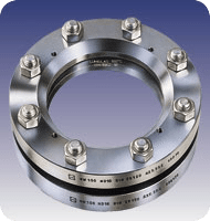 Industrial Weld-On Sight Glass Assembly: Lumiglas® Hi-Pressure