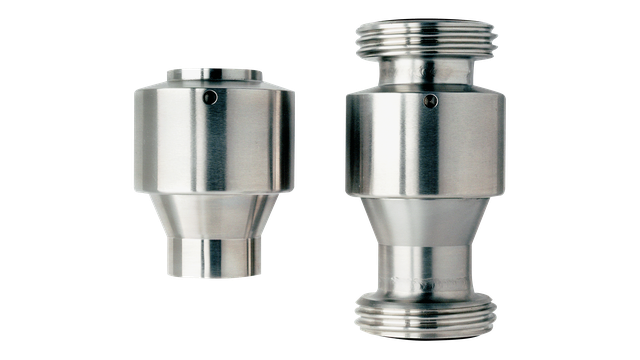 Control/Check Valves: Alfa Laval: SB Self-cleaning CO2 Valve
