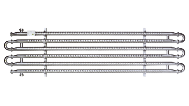 Tubular Heat Exchangers: Shell-and-tube Heat Exchangers: ViscoLine Monotube Unit