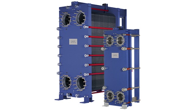 Plate Heat Exchangers: Gasketed Plate-and-frame Heat Exchangers: WideGap MA30-S