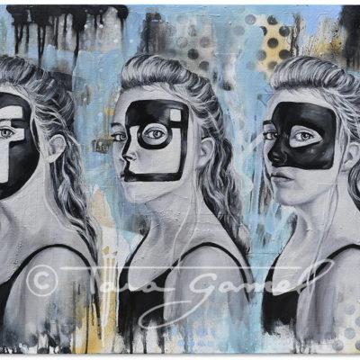 Social | Social Masquerade 36″x24″