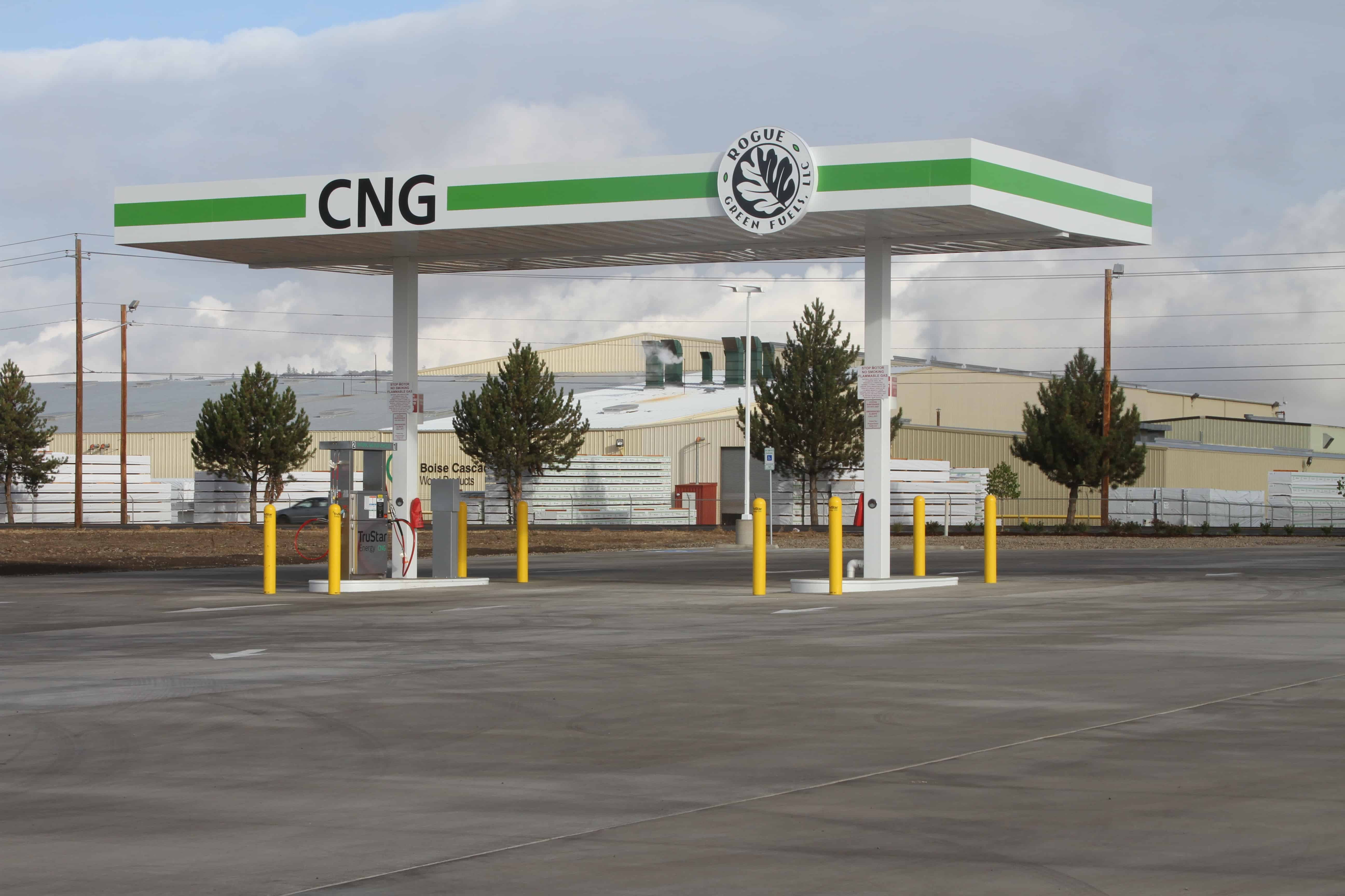 TruStar Energy Celebrates Grand Opening of CNG Fueling Station for Rogue Disposal
