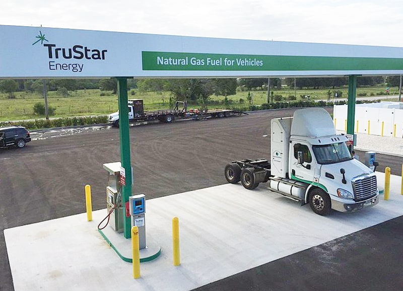 TruStar Energy Completes Its 250th CNG Fueling Station