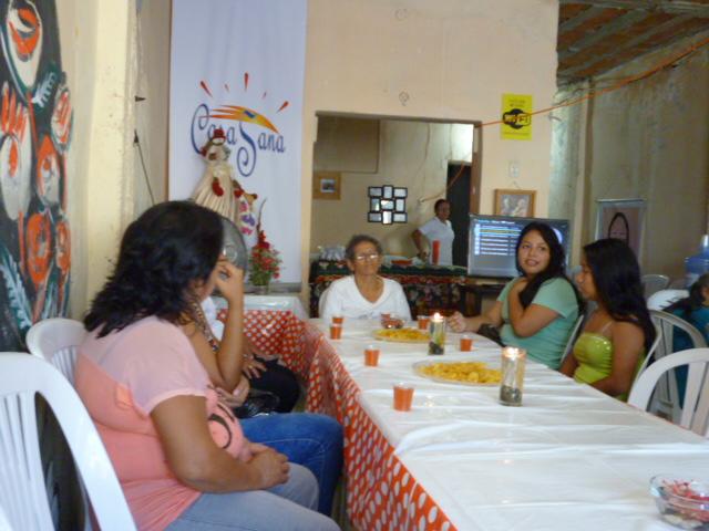 Christmas Lunch at Casa Sana House