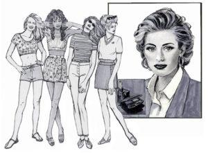 Miami Illustration Fashion Illustration