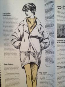 Miami editorial fashion illustration