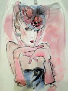 Miami fashion illustration