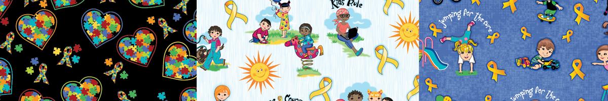 Miami Children's textile print design illustration