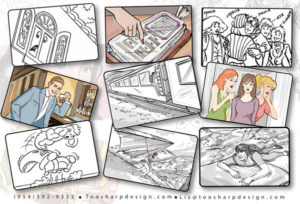 Miami Storyboard artist Ft. Lauderdale
