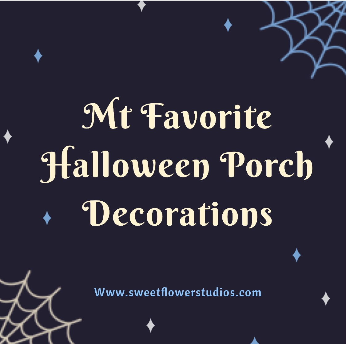 My Favorite Halloween Porch Decorations