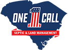 One Call Septic & Land Management Logo