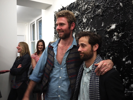 "Dan Colen's ""Come out come out where ever you are"" at Carlson Gallery dedicted to Dash Snow"