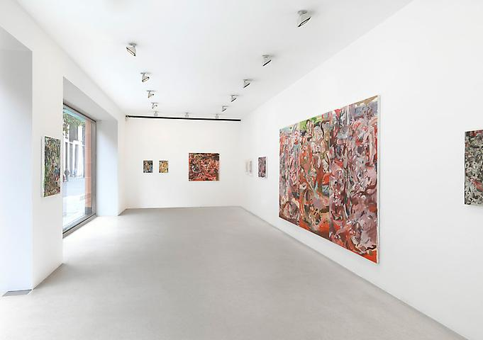 Cecily Brown's installation at Gagosian London
