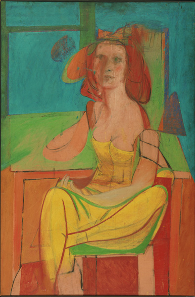 Seated Woman by DeKooning
