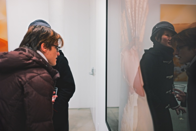 Reflective moments at Bruce Silverstein
