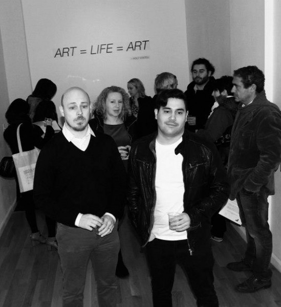 Alex Slonevsky & Andre Escarameia of Rooster Gallery