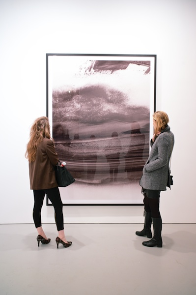 Thomas Ruff  photograms and ma.r.s. at David Zwirner Gallery