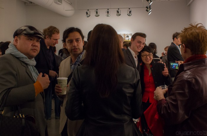A Snapshot of Several Moments at Von Lintel Gallery for the opening of Canan Tolon