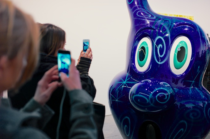 Instagram Moment at Paul Kasmin featuring Kenny Scharf