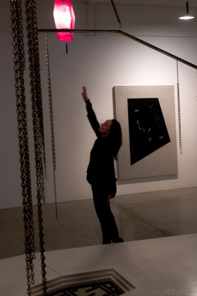 Reaching for the Stars or rather the Light of Martin Boyce (photo by Olya Turcihin)