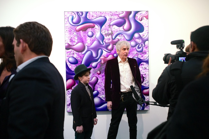 The Art Holds Up to the Colorful Characters at Paul Kasmin Gallery