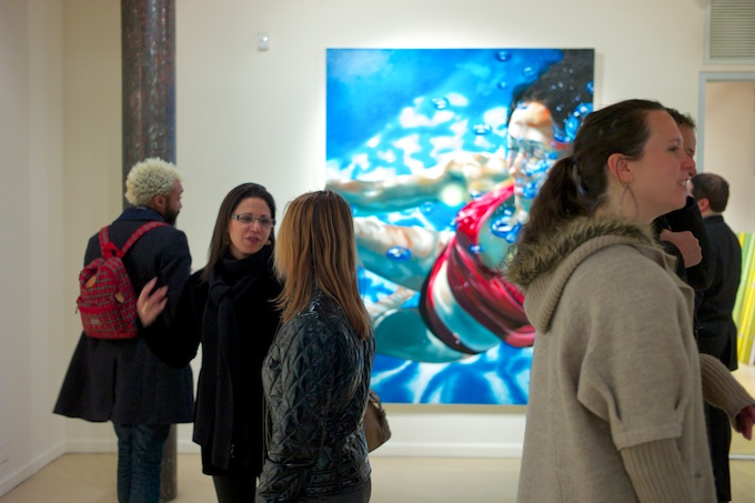 The Art Lovers Immerse Themselves in Art at Gallery Henoch