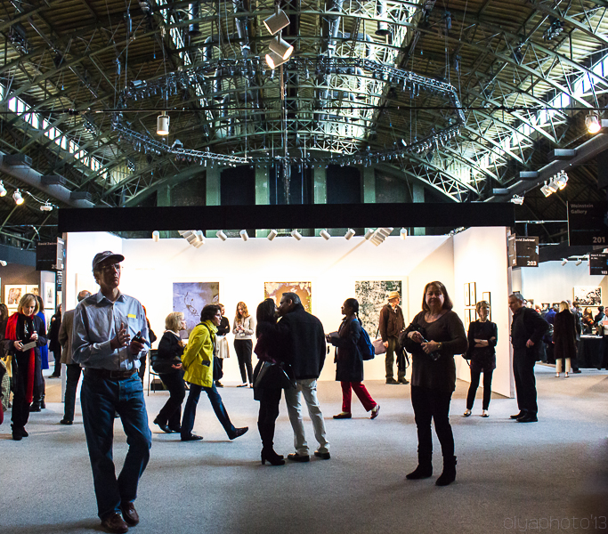 The multitude of photography lovers at AIPAD 2013