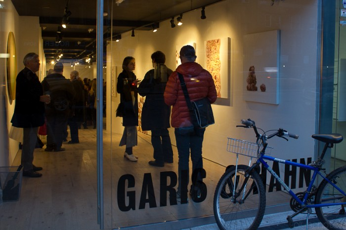 The new gallery Garis & Hahn at the Bowery