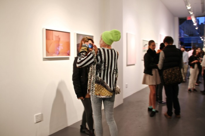 Wearable art comes to the art openings too