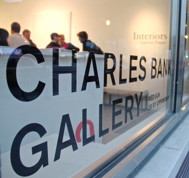 Welcome to Charles Bank Gallery in the Bowery