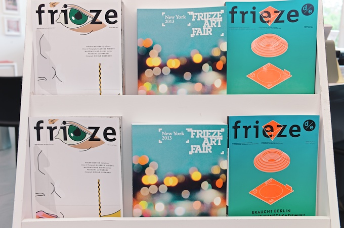 Frieze - the magazine that became a leading international contemporary art fair