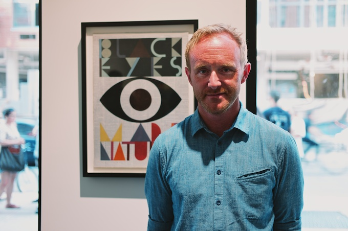 Artist and Curator of Folklore Evan Hecox at Joshua Liner Gallery