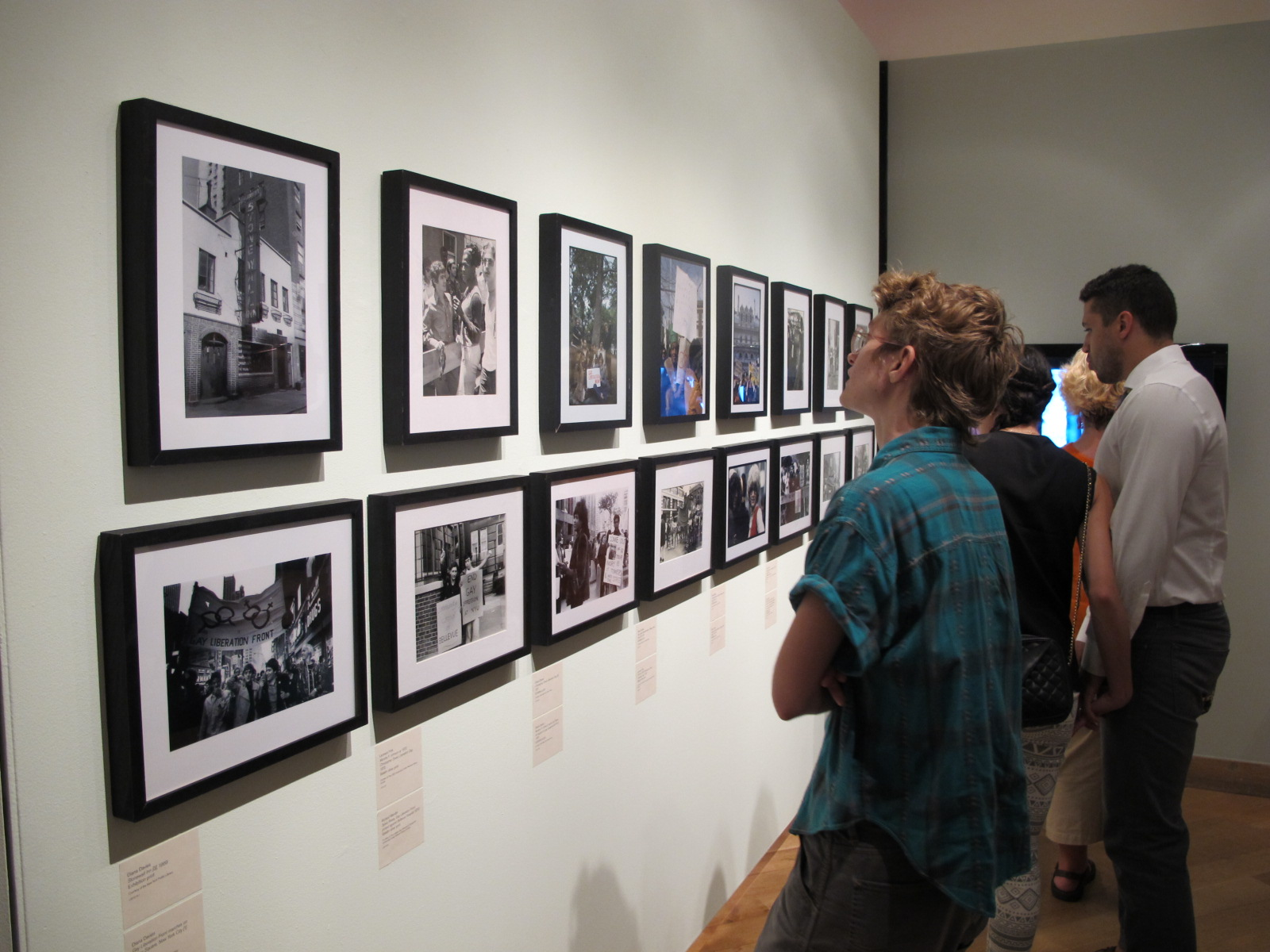 Archival images by Diana Davies, Leonard Fink and Richard C. Wandel.