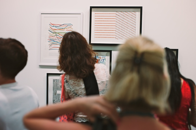 Read Between the Lines at Joshua Liner Gallery