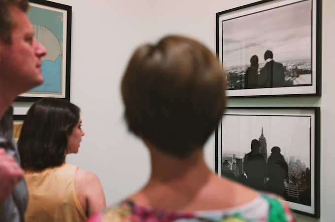 The Opening Reception of Folklore at Joshua Liner Gallery