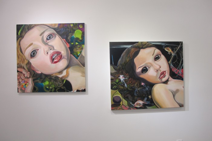 Paintings by Lena Viddo