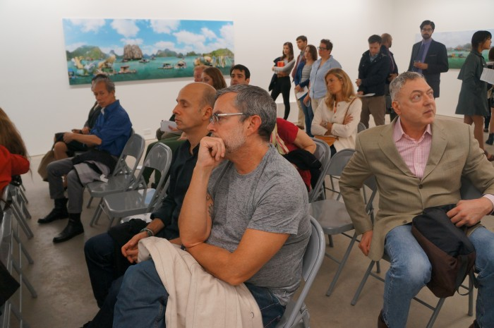 Artist Talk with Dionisio González at Gallery Richard