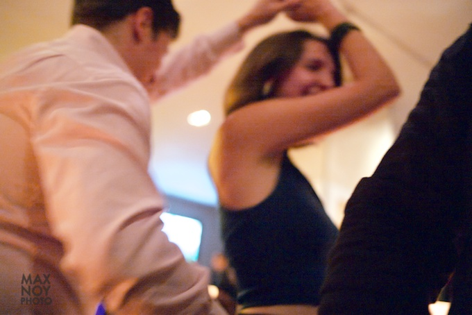 Dancing the night away at the Affordable Art Fair party