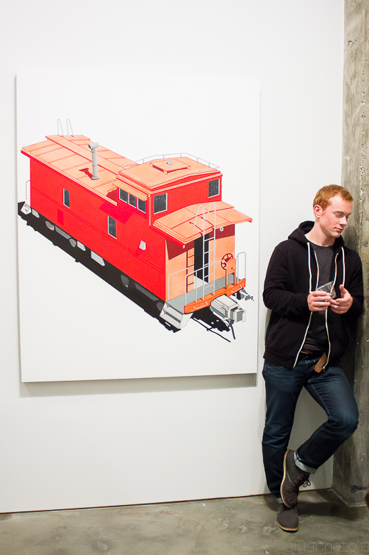 A Train is Rolling In for its Stop - William Steiger at Margaret Thatcher Projects