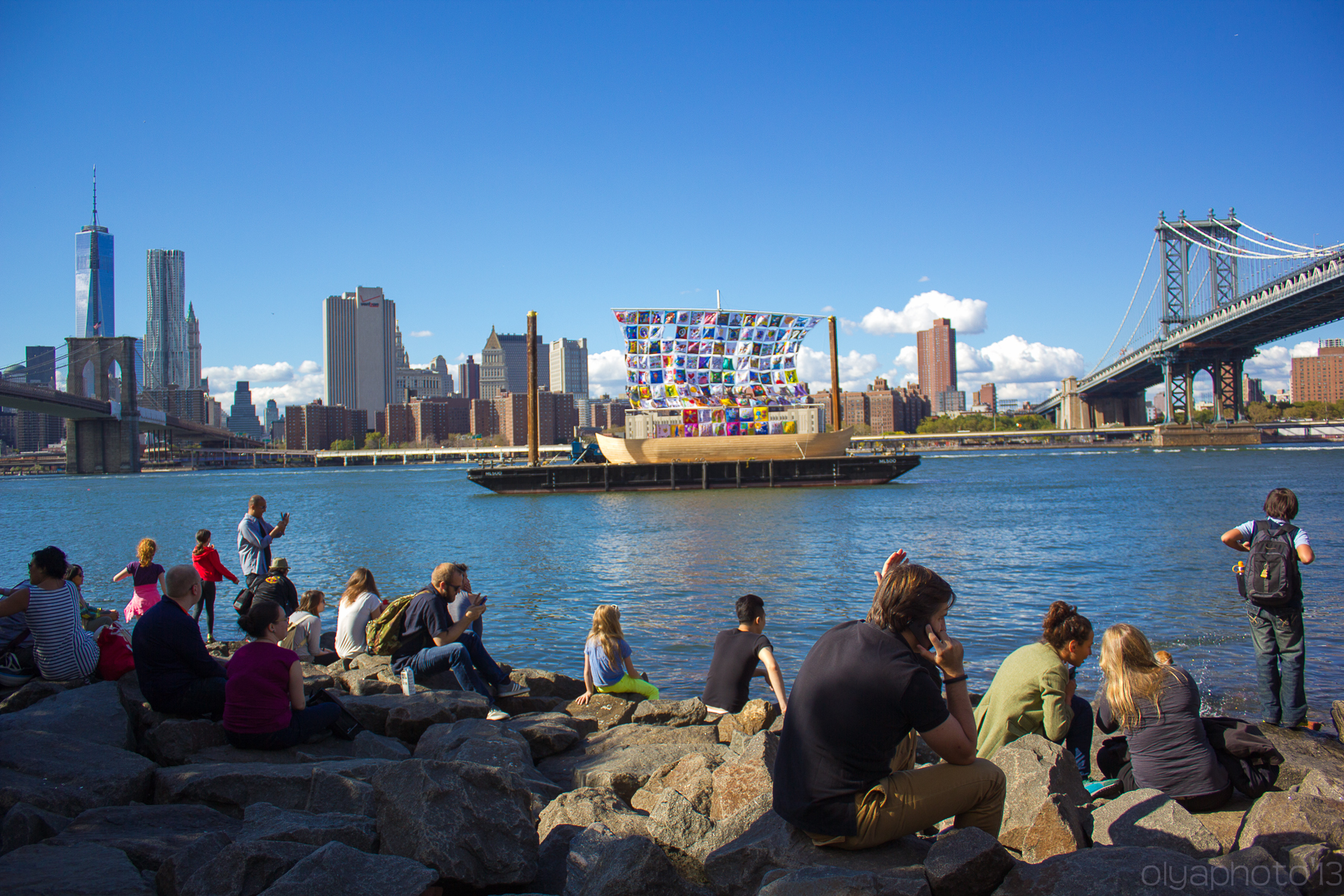 Priceless Views from the DUMBO Arts Festival