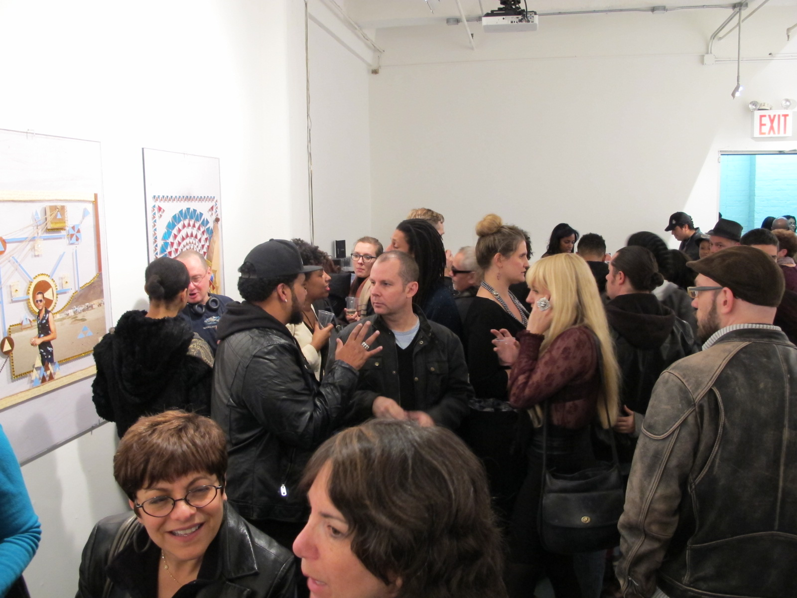 It was a full house for the opening