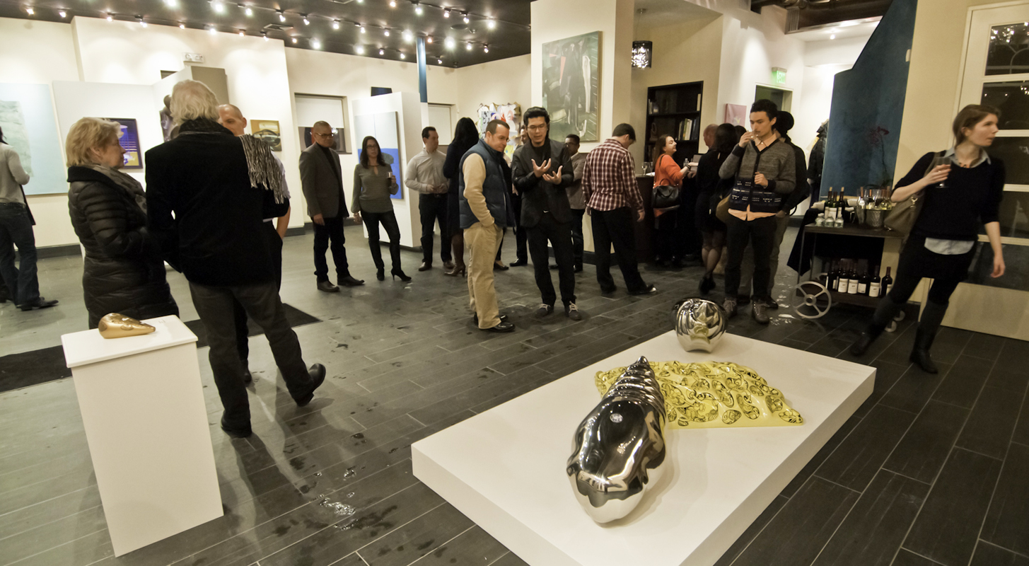 Solstice Synergy Opening Reception Mahlstedt Gallery 2014