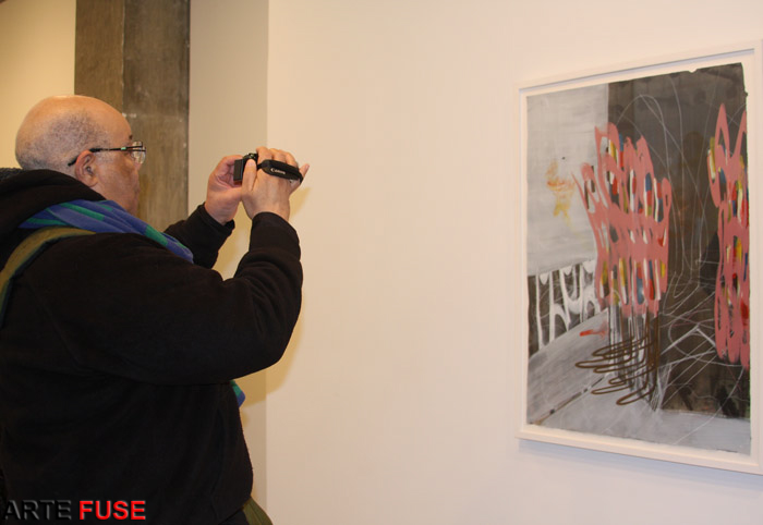 Photo worthy art at Margaret Thatcher Projects