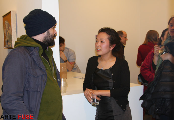 Real Interactions during Art Night in Chelsea