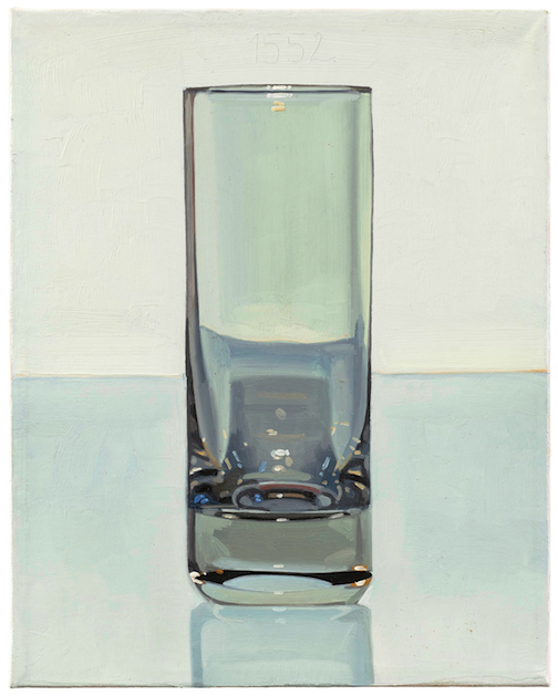 Painting a Universe on Fire - One Glass per Day: Peter Dreher at Koenig & Clinton Gallery
