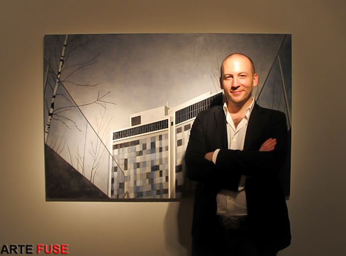 Jason Patrick Voegele executive director at The Lodge Gallery